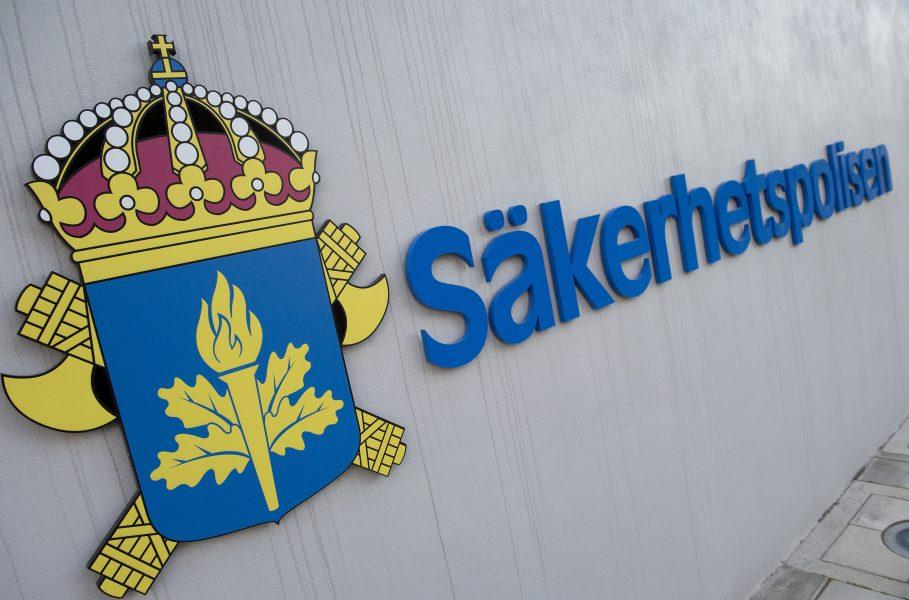 Säkerhetspolisens (Säpo) huvudkontor i Solna.