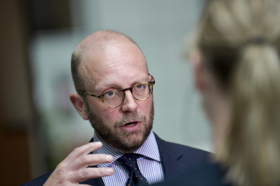 Åklagaren Henrik Olin säger att de två männen som åtalas för mordbrand hade ett ideologiskt motiv.