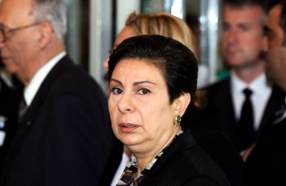 Hanan Ashrawi lämnar PLO.