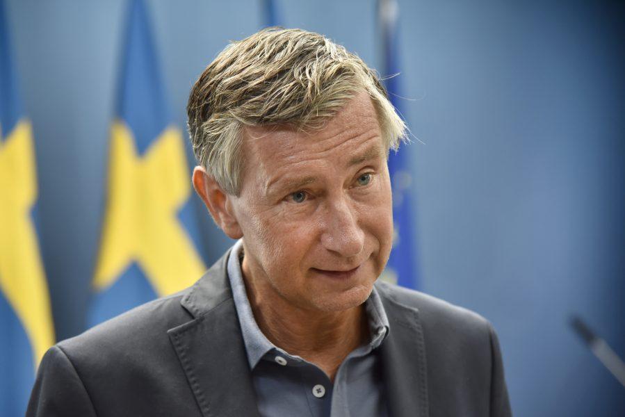 Sveriges vaccinsamordnare Richard Bergström.