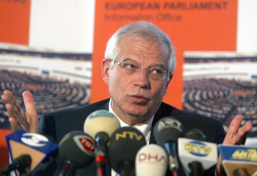 EU:s utrikeschef Josep Borell har haft täta band till fossilindustrin.