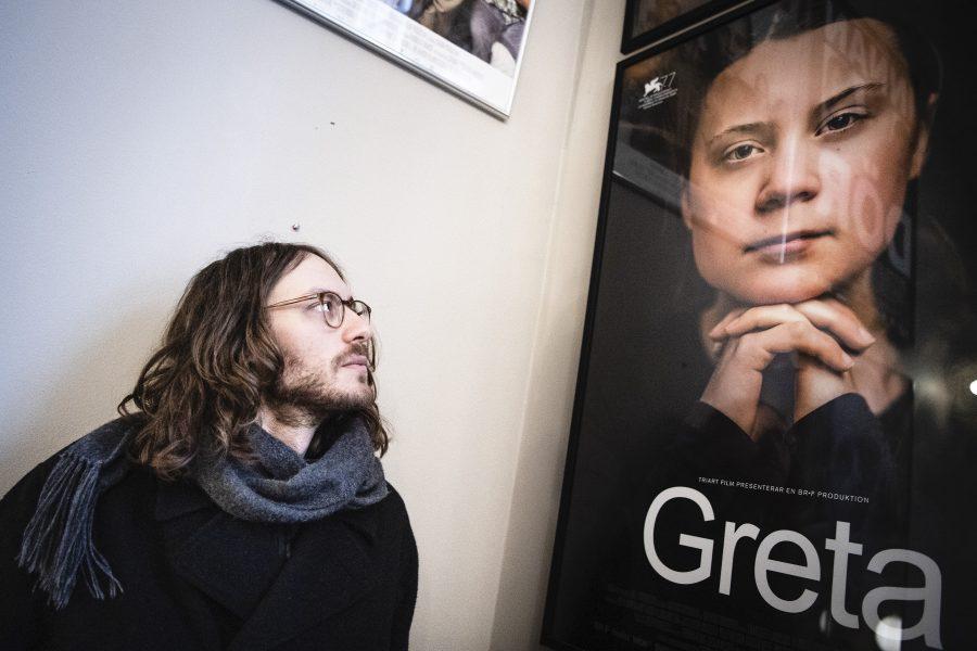 Nathan Grossman har gjort den uppmärksammade dokumentären om Greta Thunberg Foto: Amir Nabizadeh/TT.