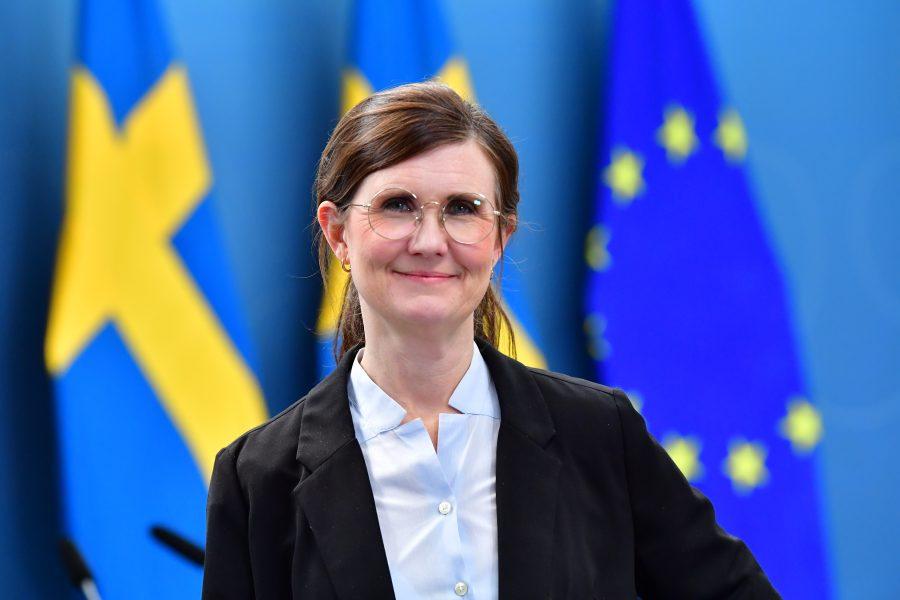 Märta Stenevi, språkrör Miljöpartiet.