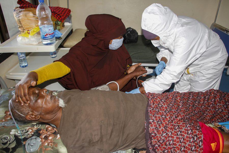 Brist på syrgas är akut i många länder, till exempel i Somalia i Afrika.