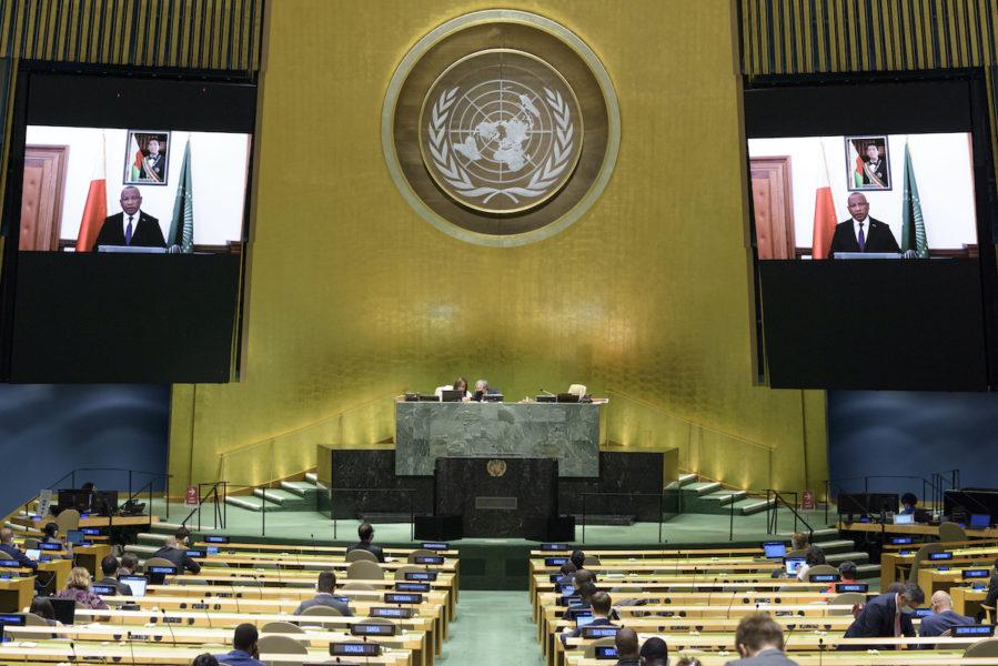 Rika stater dominerar höga topp-positioner i FN.