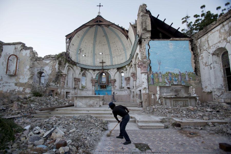 2010 drabbades Haiti av en stor jordbävning.