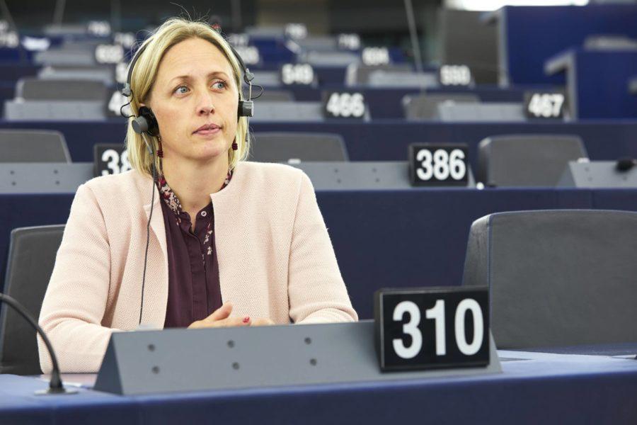 Jytte Guteland har lett förhandlingarna om nytt klimatavtal för EU.