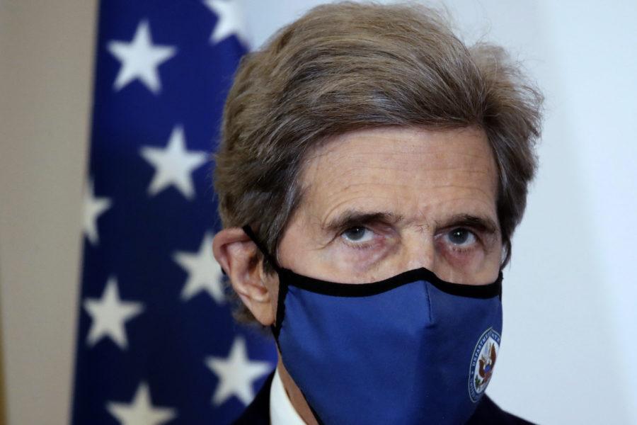 USA:s klimatsändebud John Kerry, bild från mars i år.