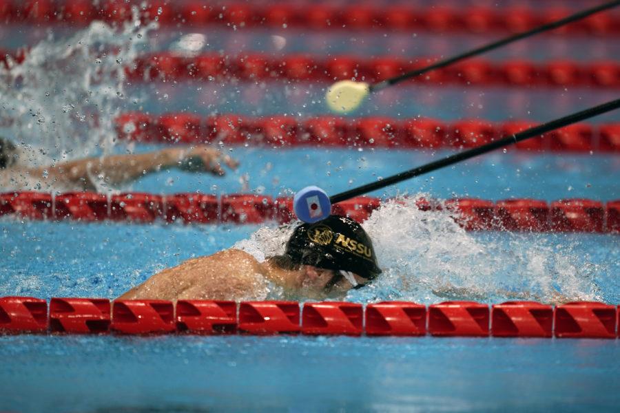 Simning är en av grenarna i kommande OS i Tokyo som flyktinglaget ska tävla i.