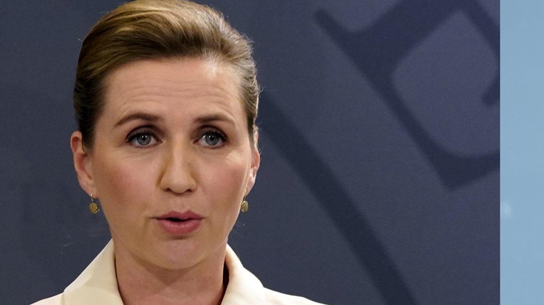 Danmarks statsminister Mette Frederiksen har försäkrat sin svenske kollega StefanLöfvenatt Danmark inte avlyssnar sina partner systematiskt.