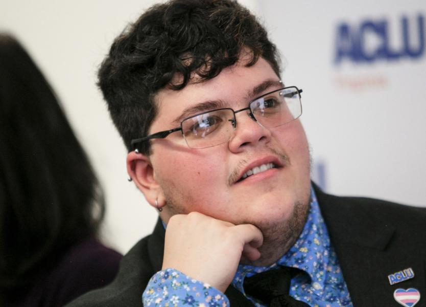 Gavin Grimm har via sin kamp mot en gymnasieskola i USA blivit känd som hbtq-aktivist.