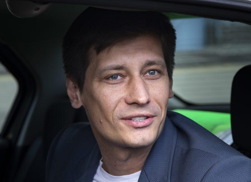 Den ryska regimkritikern Dmitrij Gudkov.