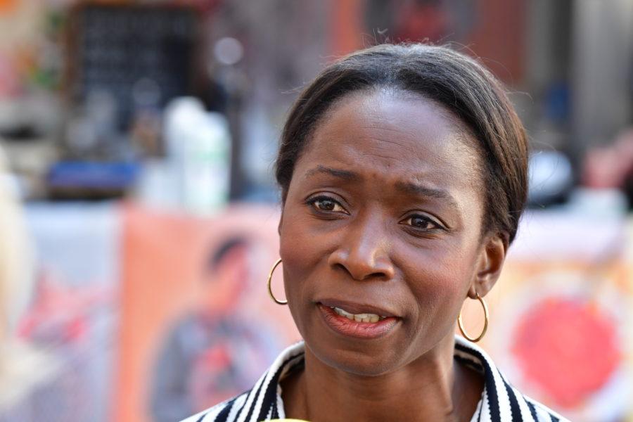 Liberalernas partiledare Nyamko Sabuni tidigare i juni.