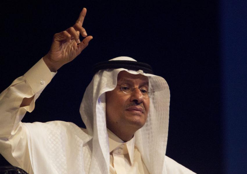 Saudi Arabiens energiministerAbdulaziz bin Salman.