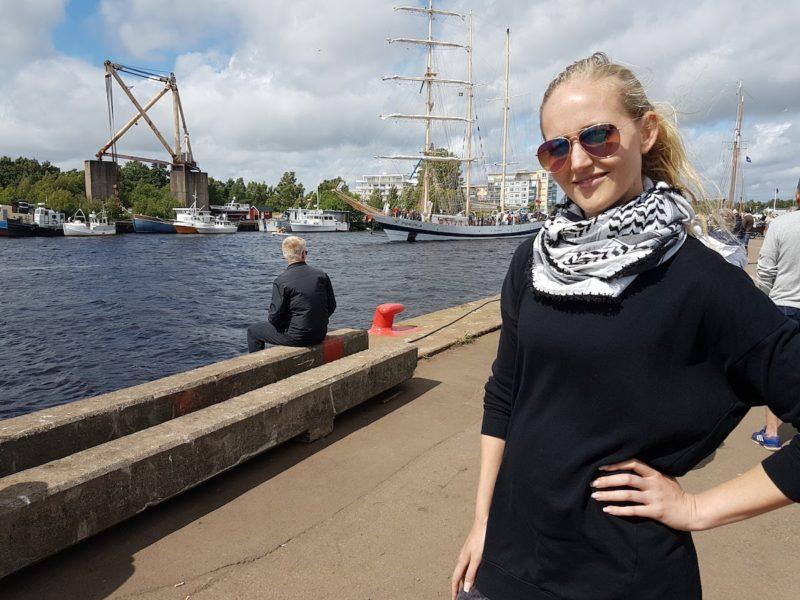 """""""För mig är det civilsamhället som är demokratin"""", säger Ellen Hansson, ordförande för Tillsammansskapet."""
