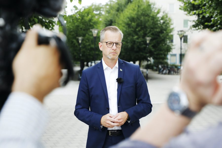 Inrikesminister Mikael Damberg.