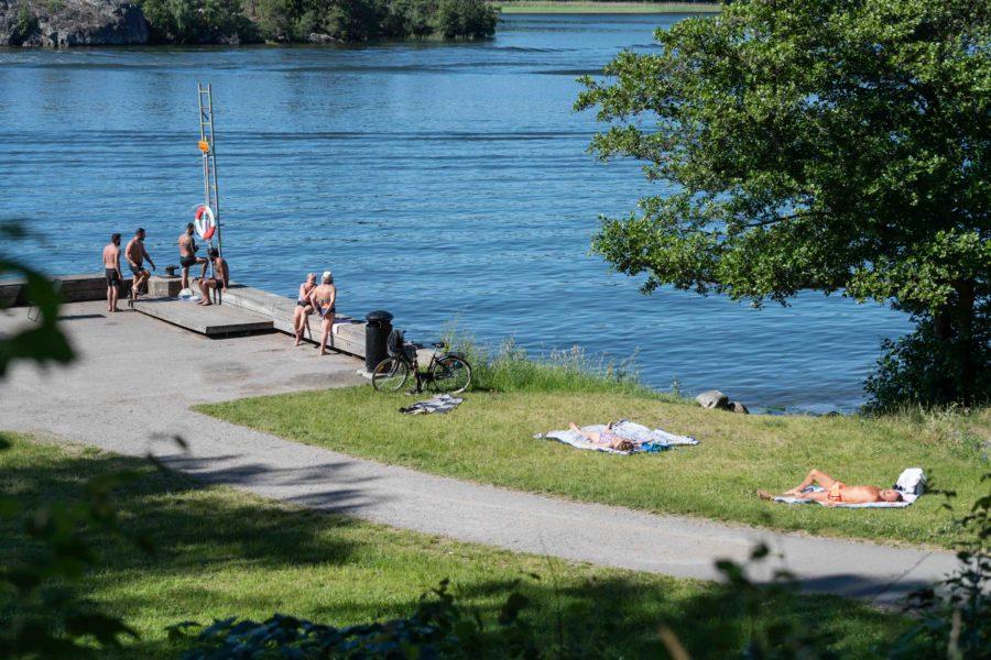 Rekordvarm junimånad för Stockholm i år.