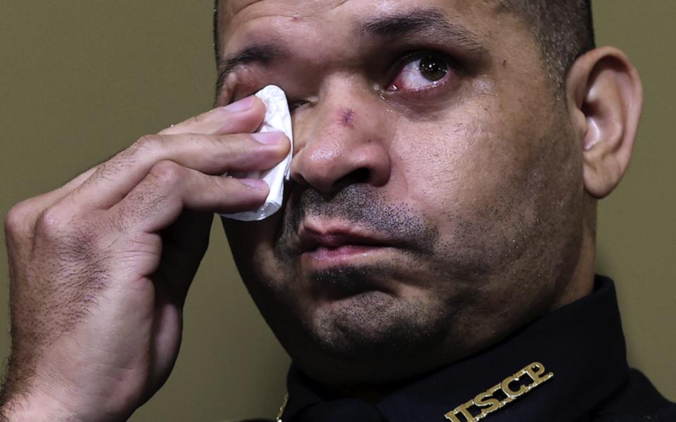 Kapitoliumpolisen Aquilino Gonell var inte den enda som grät när han vittnade om den 6 januari.