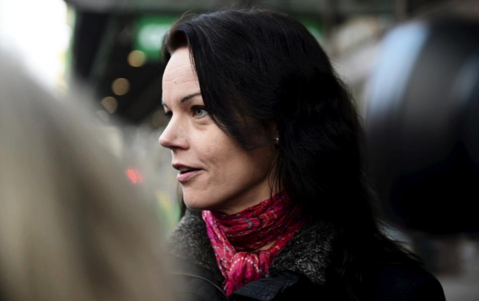 Veronica Palm lämnade sitt uppdrag som folkvald för Socialdemokraterna i riksdagen hösten 2015.