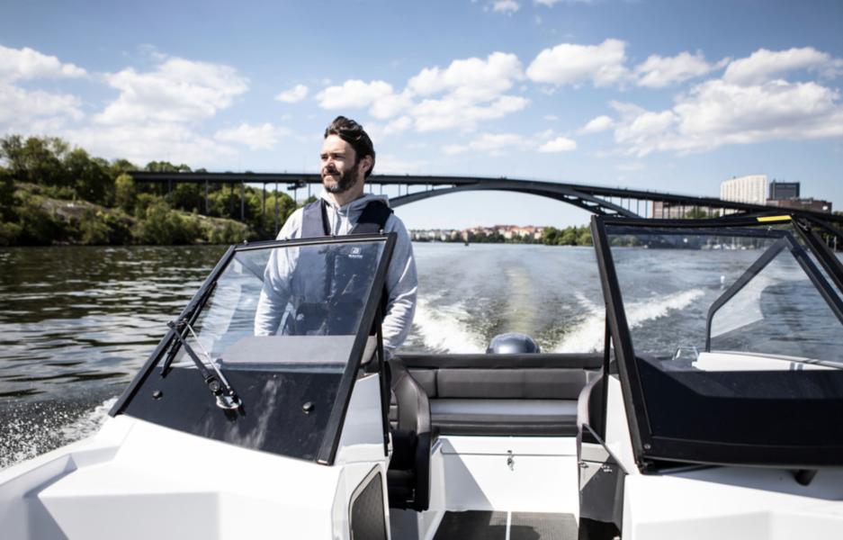 Axel Nordman, vd för Skipperi, ser ett enormt ökat intresse för båtliv, inte minst bland kvinnor.
