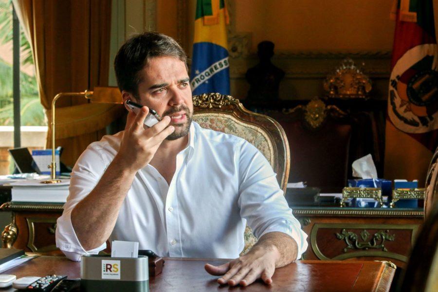 Guvernör Eduardo Leites ska utmana president Jair Bolsonaro – och homofobin i det brasilianska samhället.
