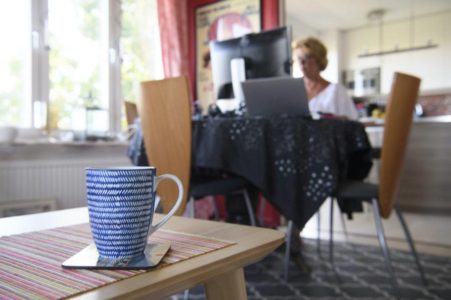 Även efter pandemin kommer fler mixa sin tid mellan hemmajobb och kontorsjobb.