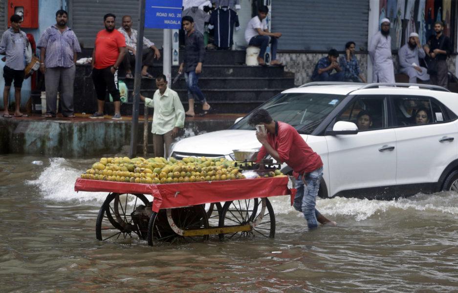 Monsunperioden i Indien varar mellan juni och september.