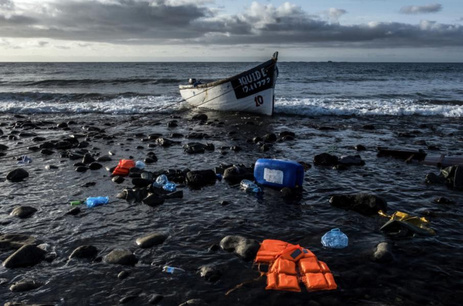 De flesta av de nu avlidna migranterna var på väg till Kanarieöarna.