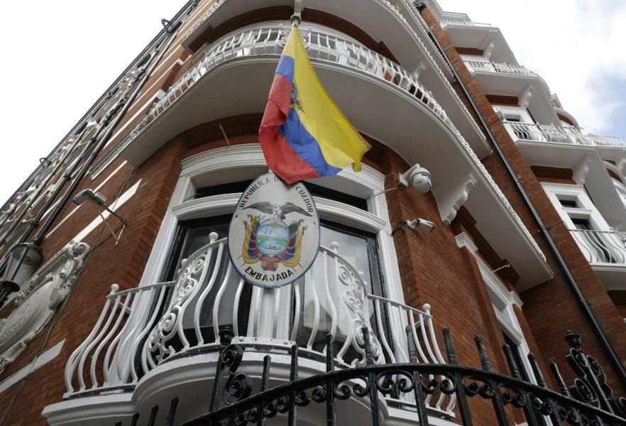 Wikileaksgrundaren JulianAssangebodde på Ecuadors ambassad i London i flera år.