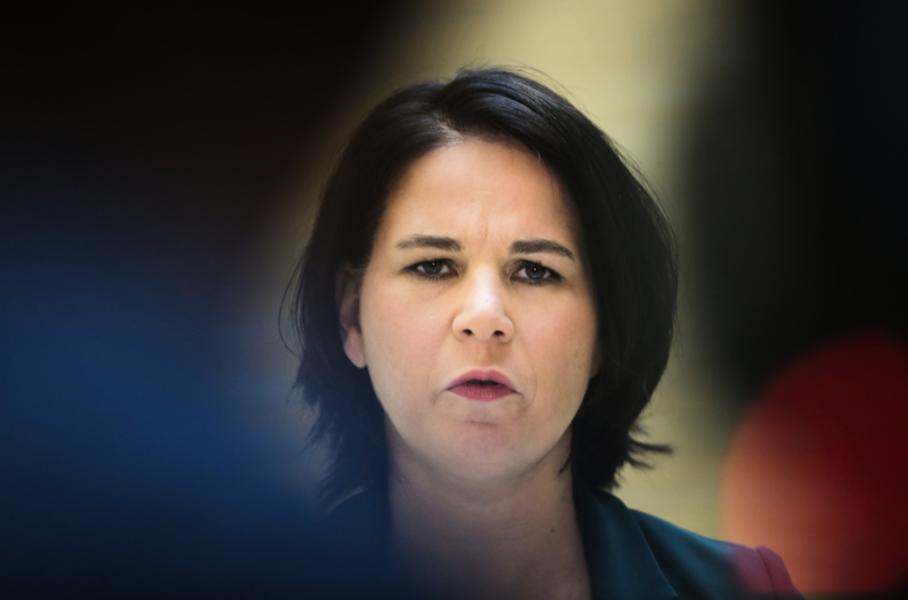 Annalena Baerbock kan bli Tysklands nästa förbundskansler i valet i september.