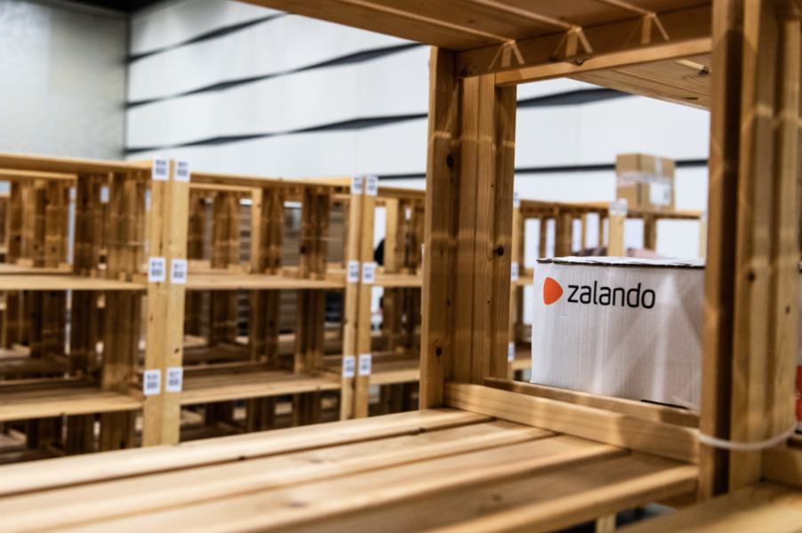 Larm om allvarliga missförhållanden på Zalando.