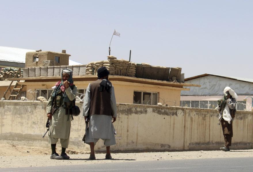 Talibanerna har tagit kontroll över en allt större del av Afghanistan.
