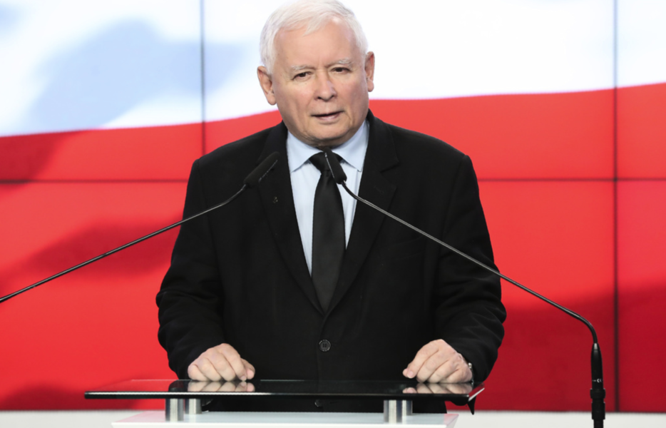 Jaroslaw Kaczynski leder det polska regeringspartiet Lag och rättvisa (PIS).