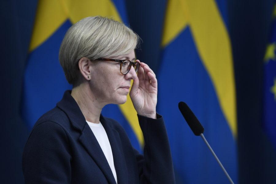 Utredaren Sofia Wallström, generaldirektör på Inspektionen för vård och omsorg (IVO).