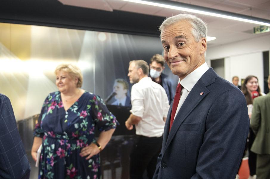 Arbeiderpartiets Jonas Gahr Støre ser ut att bli ny statsminister efter Erna Solberg.