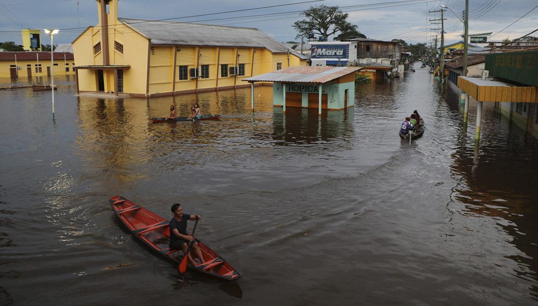 Frihandelavtalet mellan EU och Mercosur leder till avskogning, utsläpp och fler som måste ta sig fram med roddbåt på gatorna.