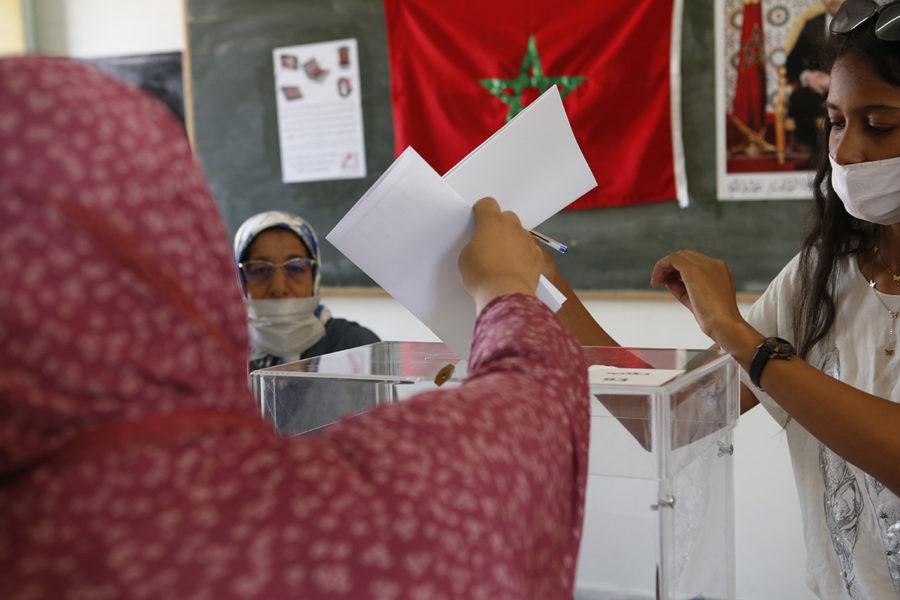 Marockanerna gick till parlamentsval under onsdagen.