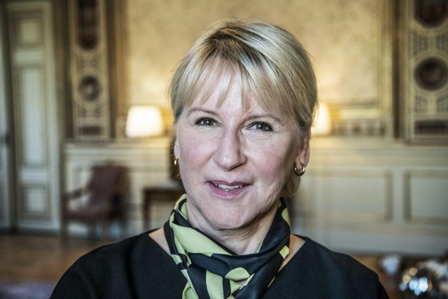 Margot Wallström prisas av Läkare mot kärnvapen för sitt långa engagemang mot kärnvapen.