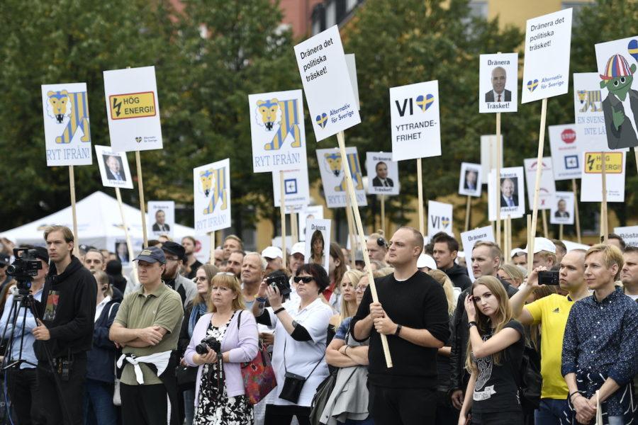 Alternativ för Sverige bildades inför riksdagsvalet 2018.