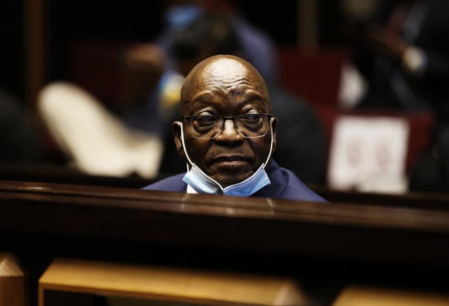 Sydafrikas ex-president Jacob Zuma.