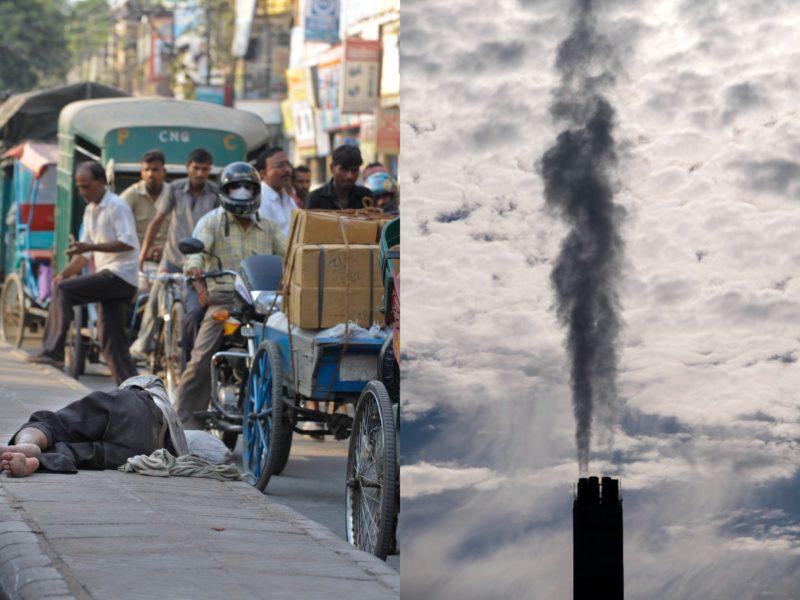 Indiernas liv förkortas markant på grund av förorenad luft.