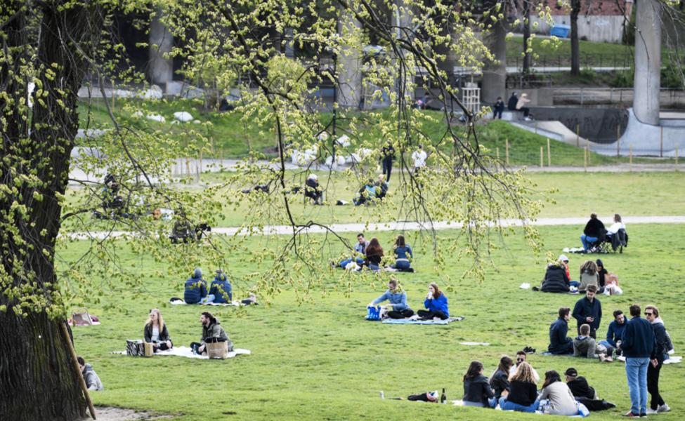 Att ha nära tillgång till ett grönområde är viktigt för hälsan.