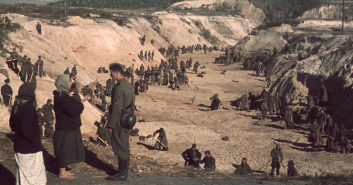 Ravinen Babij Jar användes som massavrättningsplats under andra världskriget.